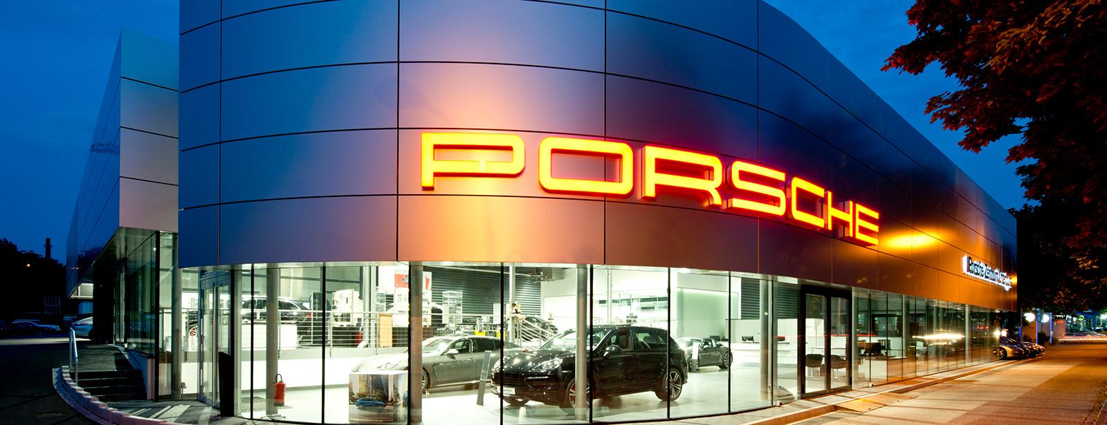 Le Centre Porsche de Offenburg